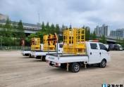 국제산업 국제도로시설물점검차량 KJ-HIPAS…
